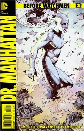 Before Watchmen: Dr. Manhattan 2-D