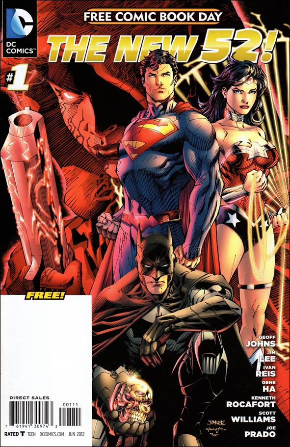 DC Comics - The New 52 FCBD Special Edition 1-A by DC
