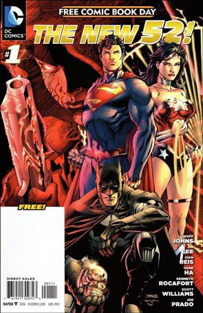 DC Comics - The New 52 FCBD Special Edition 1-A