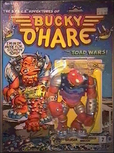Bucky O'Hare Bruiser the Berserker Baboon by Hasbro