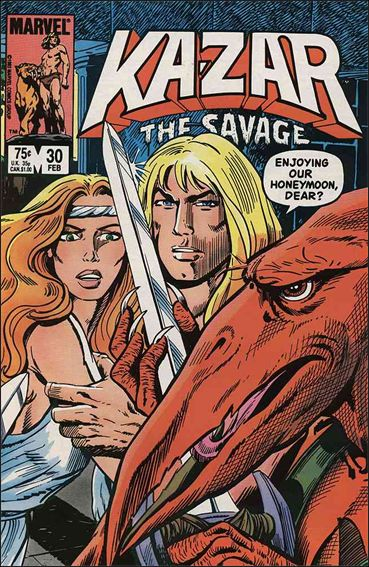 Ka-Zar the Savage 30-A by Marvel