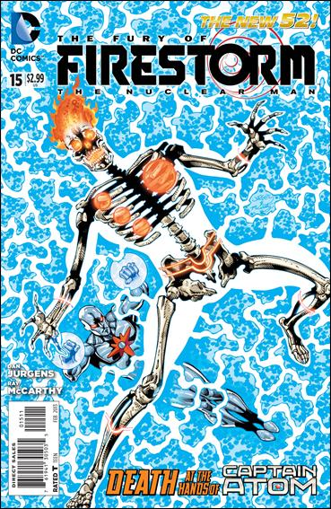 Fury of Firestorm: The Nuclear Man 15-A by DC