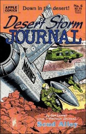 Desert Storm Journal 6-A by Apple
