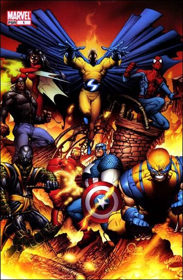 New Avengers (2005) 1-C by Marvel