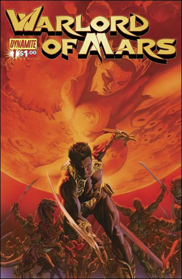 Warlord of Mars 1-B by Dynamite Entertainment