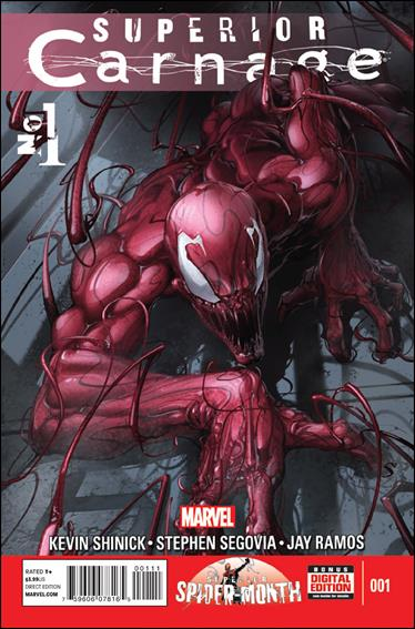 Superior Carnage 1-A by Marvel
