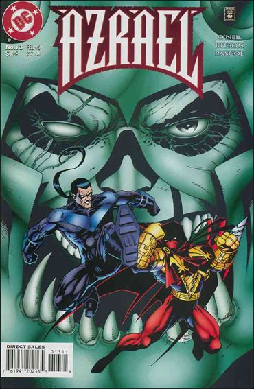 Azrael (1995) 13-A by DC