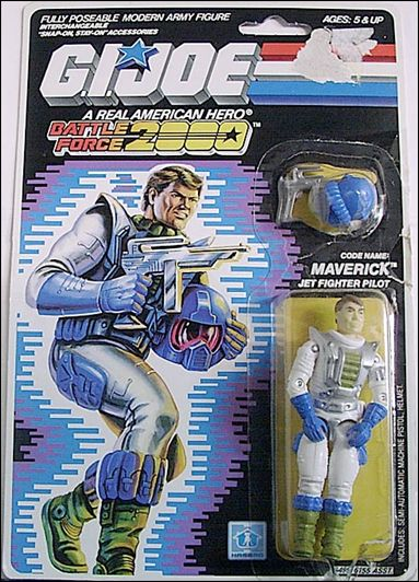 G.I. Joe: A Real American Hero (Battle Force 2000)  Maverick (Vector Jet Pilot) by Hasbro