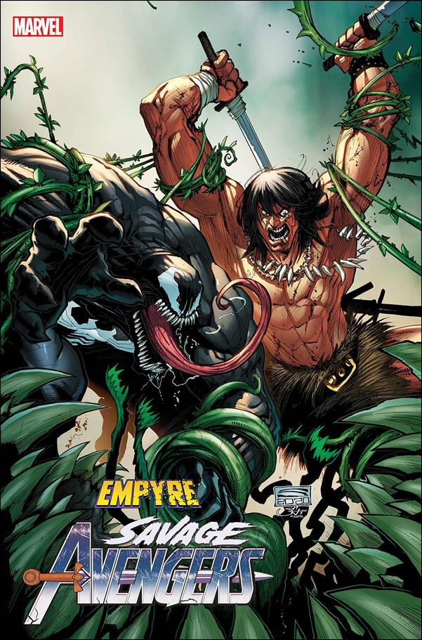 Empyre: Savage Avengers 1-B by Marvel