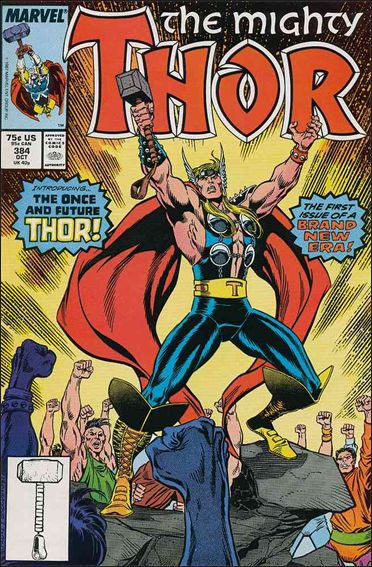 Thor (1966) 384-A by Marvel