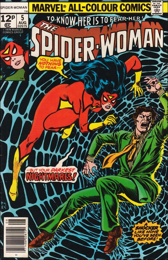 Spider-Woman (1978) 5-B by Marvel