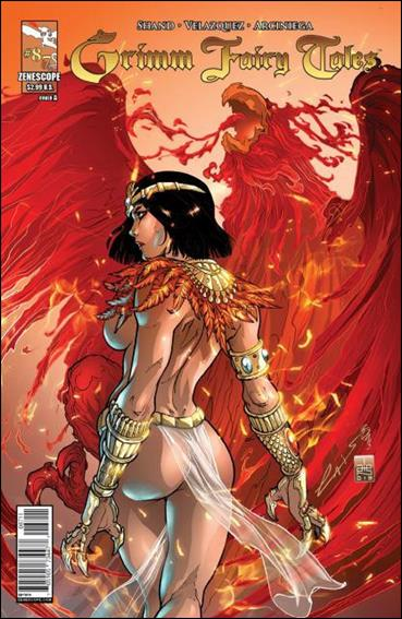 Grimm Fairy Tales (2005) 87-A by Zenescope Entertainment