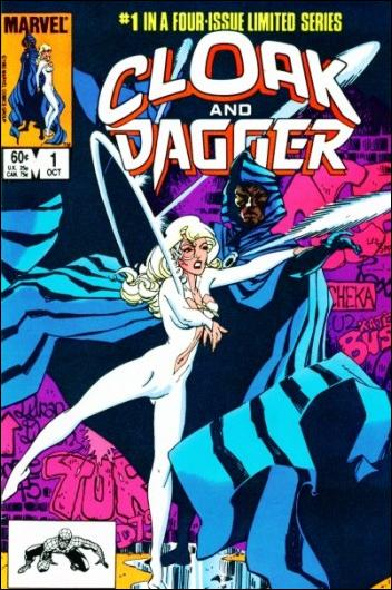Cloak and Dagger (1983) 1-A by Marvel