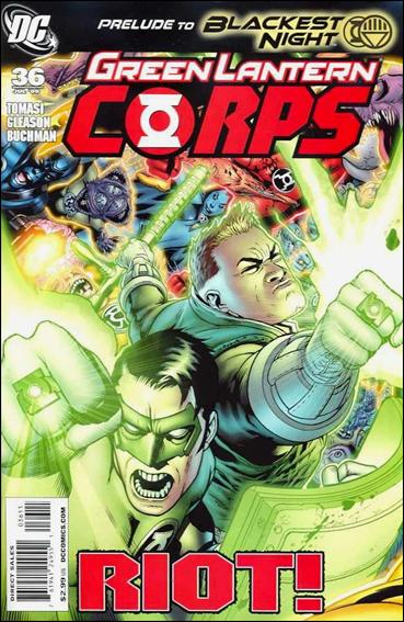 Green Lantern Corps (2006) 36-A by DC