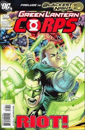Green Lantern Corps (2006) 36-A