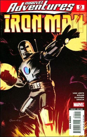 Marvel Adventures Iron Man 9-A by Marvel
