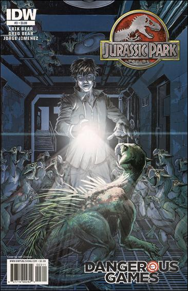 Jurassic Park: Dangerous Games 3-A by IDW