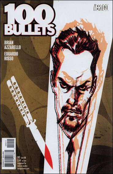 100 Bullets 90-A by Vertigo