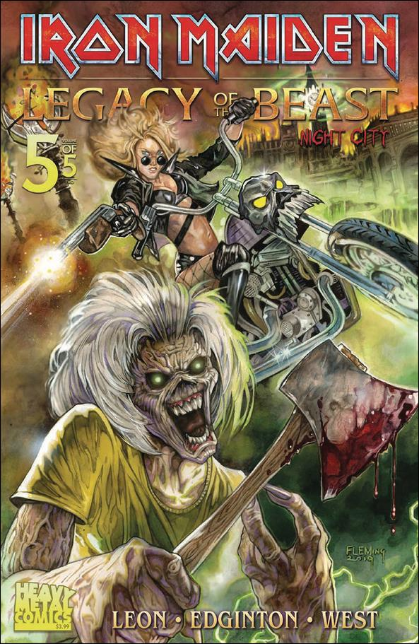 Iron Maiden Legacy of the Beast: Night City 5-A by Heavy Metal