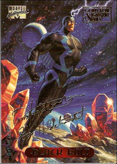 1994 Marvel Masterpieces (Gold-Foil Signature Parallel Base Set) 5-A by Fleer