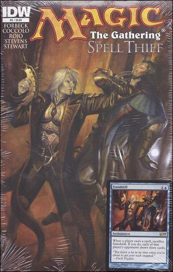 Magic The Gathering: Spell Thief 3-A by IDW