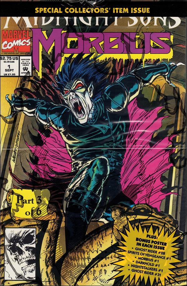 Morbius: The Living Vampire (1992) 1-B by Marvel