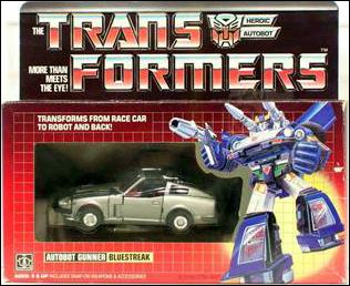 Transformers: More Than Meets the Eye (Generation 1) Bluestreak (Autobot Gunner) by Hasbro