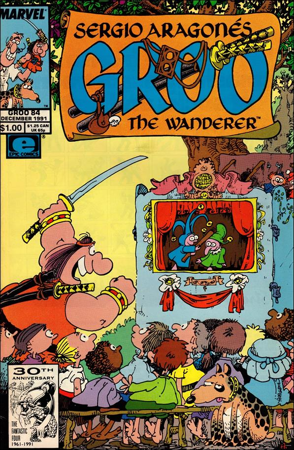 Sergio Aragones Groo the Wanderer 84-A by Epic