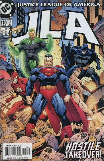 JLA 110-A by DC
