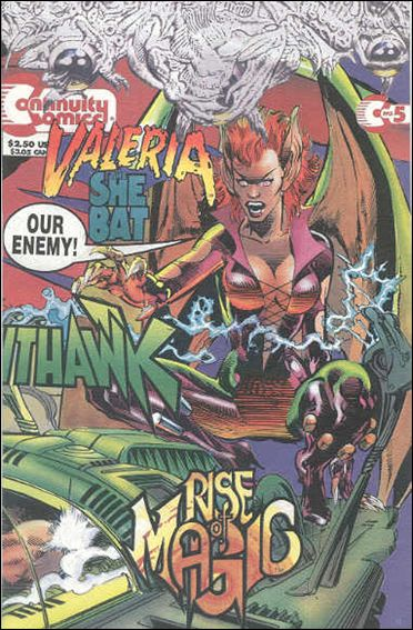 Valeria the She Bat (1993) 5-A by Continuity Comics