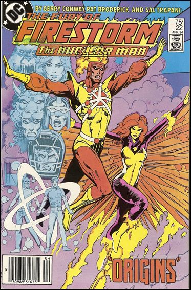 Fury of Firestorm 22-A by DC