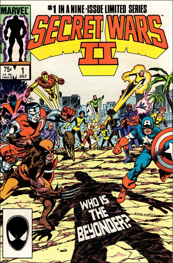 Secret Wars II 1-A by Marvel