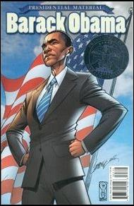 Presidential Material: Barack Obama 1-B by IDW