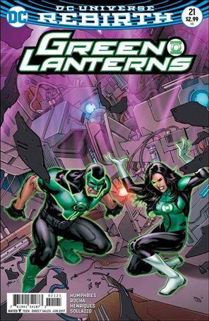 Green Lanterns 21-B