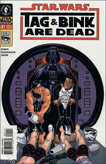 Star Wars: Tag & Bink are Dead 1-A by Dark Horse