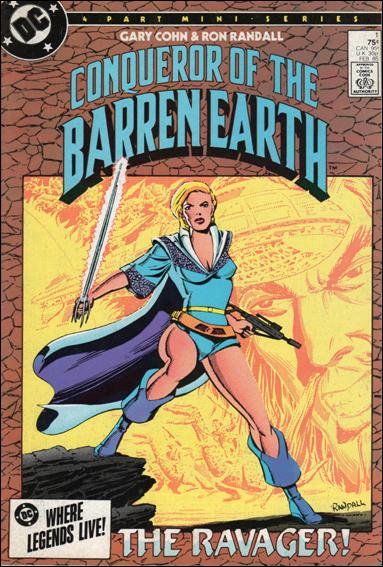 Conqueror of the Barren Earth 1-A by DC