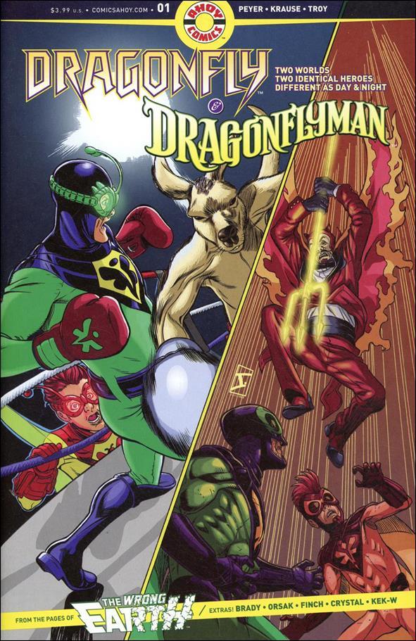 Dragonfly & Dragonflyman (11/2019) 1-A by Ahoy Comics