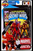 Marvel Universe: Secret Wars (Comic-Packs) Wolverine and Human Torch