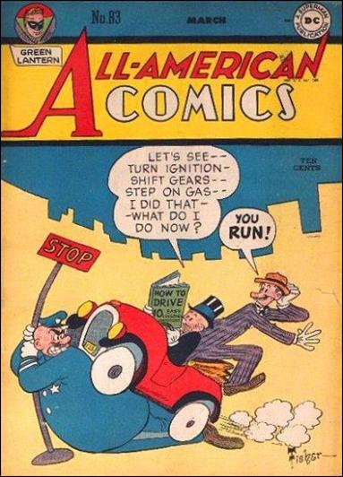 All-American Comics (1939) 83-A by DC