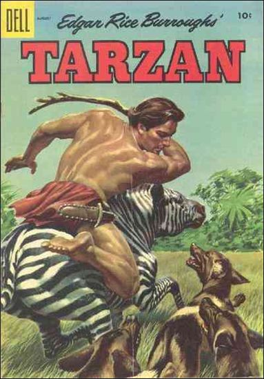 Tarzan (1948) 71-A by Dell