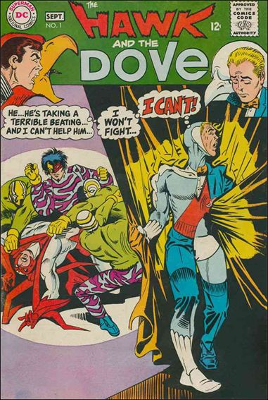 Hawk and the Dove (1968) 1-A by DC