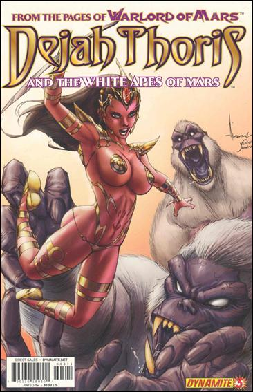 Dejah Thoris and the White Apes of Mars 3-B by Dynamite Entertainment