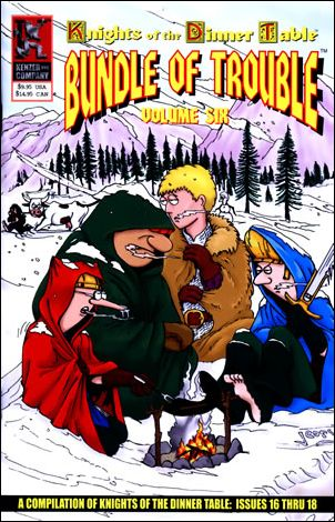 Knights of the Dinner Table: Bundle of Trouble 6-A by Kenzer and Company