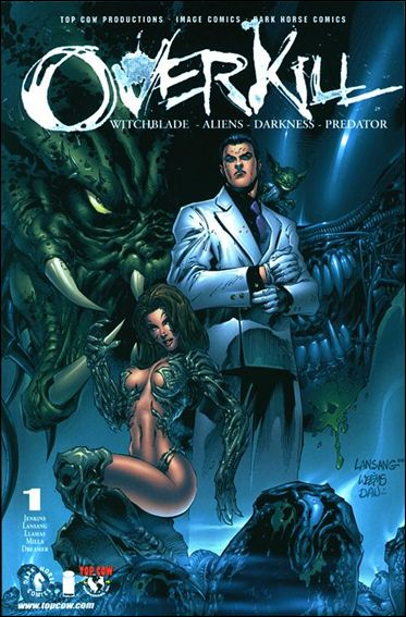 Overkill: Witchblade/Aliens/Darkness/Predator 1-A by Top Cow