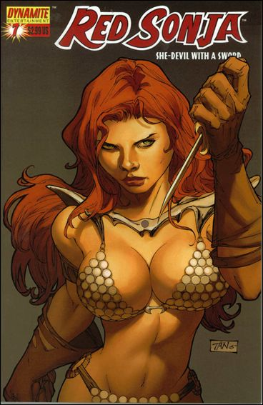 Red Sonja (2005) 7-B by Dynamite Entertainment