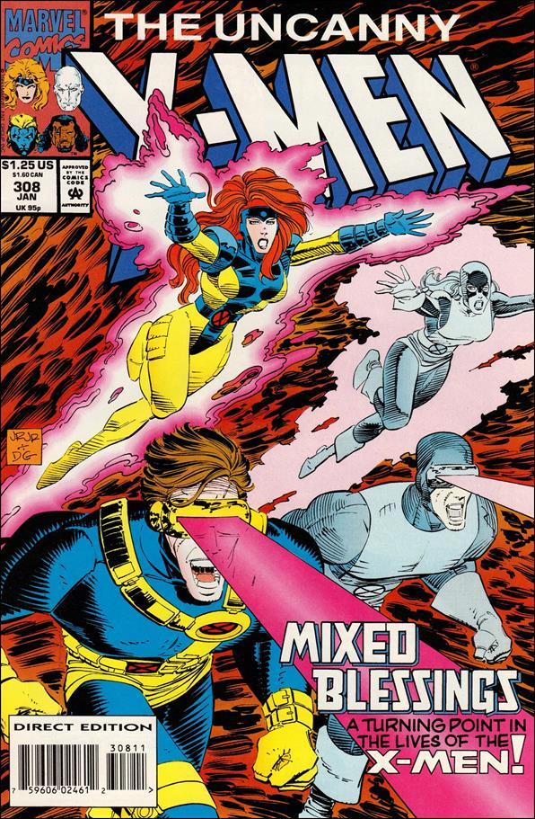 Uncanny X-Men (1981) 308-A by Marvel