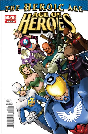 Age of Heroes (2010) 2-A by Marvel