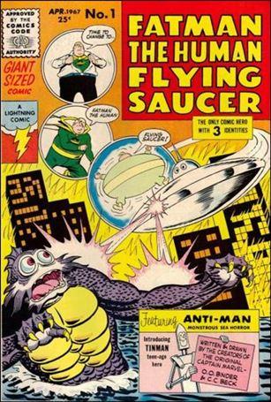 Fatman Human Flying Saucer 1-A