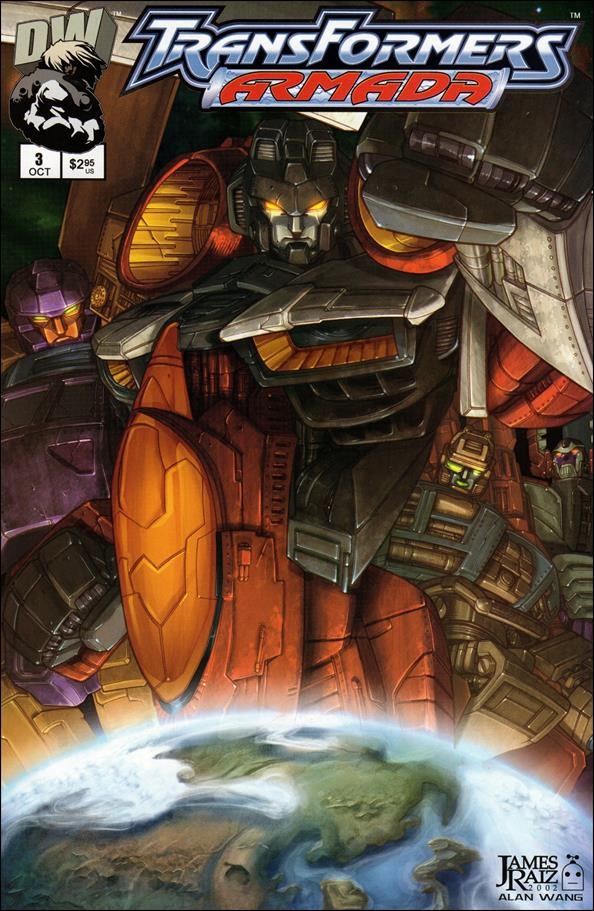 Transformers: Armada (2002) 3-A by Dreamwave