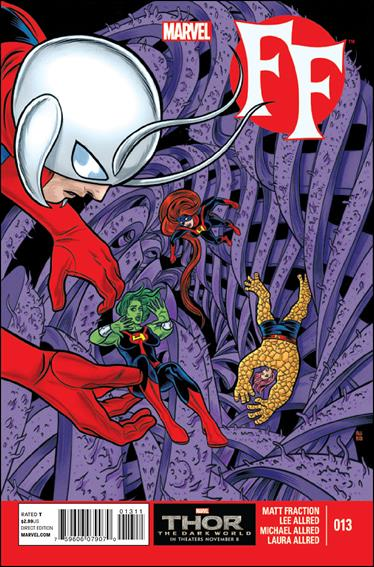 FF (2013) 13-A by Marvel